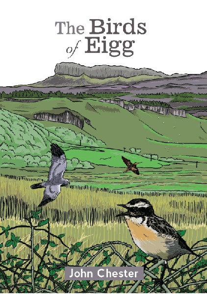 Birds of Eigg book cover